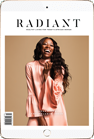 Radiant Magazine on iPad