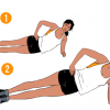 Weekend Challenge: Side Plank Dips - Radiant Health Magazine
