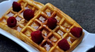 [Recipe] Sweet Potato Waffles