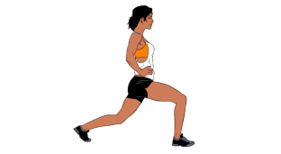 Weekend Challenge: Stationary Pulse Lunges