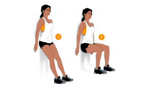 Weekend Challenge: Wall Squats