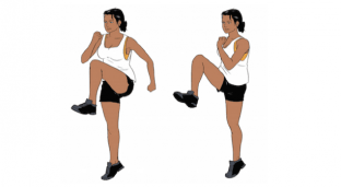Weekend Fitness Challenge: High Knee Run