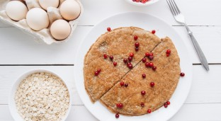 [Recipe] Guilt-Free Oatmeal Pancake