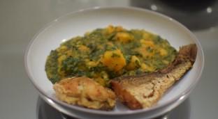 Yam and Kale Pottage Recipe