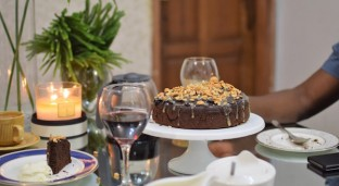 A New Twist on a Classic: Cassava Flour Chocolate Cake