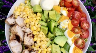 A Traditional Chicken Cobb Salad Recipe with an Ethiopian Twist