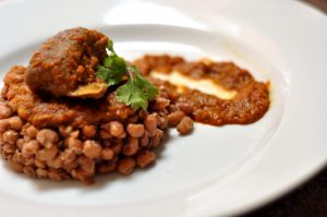 African Cuisine beans and pepper