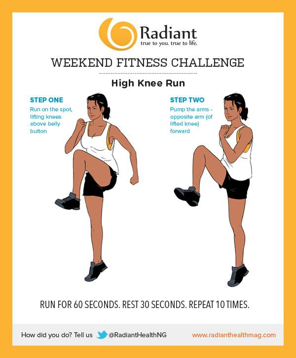 high-knee-run
