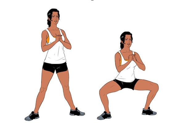Resultado de imagem para sumo squats