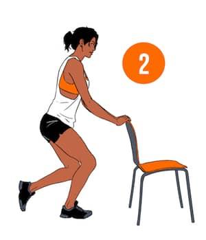 Single Leg Squats Step 2