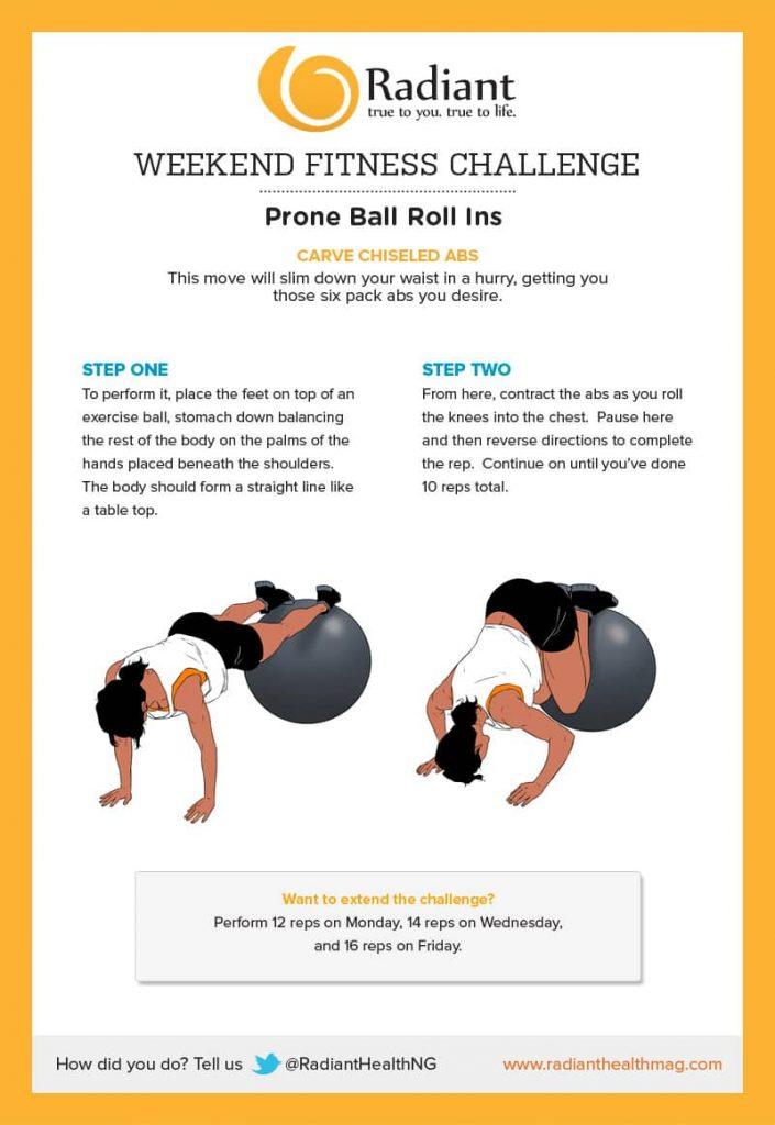 Prone Ball Roll Ins