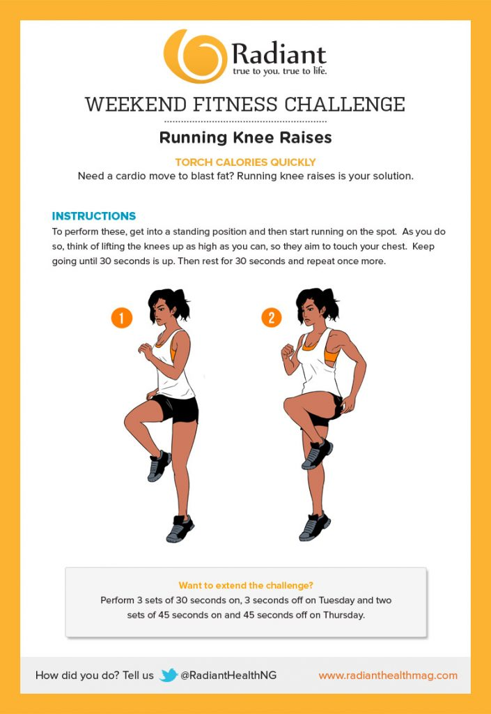 Running Knee Raises