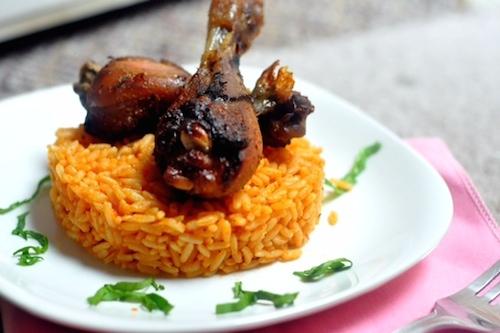 African Cuisine jollofrice