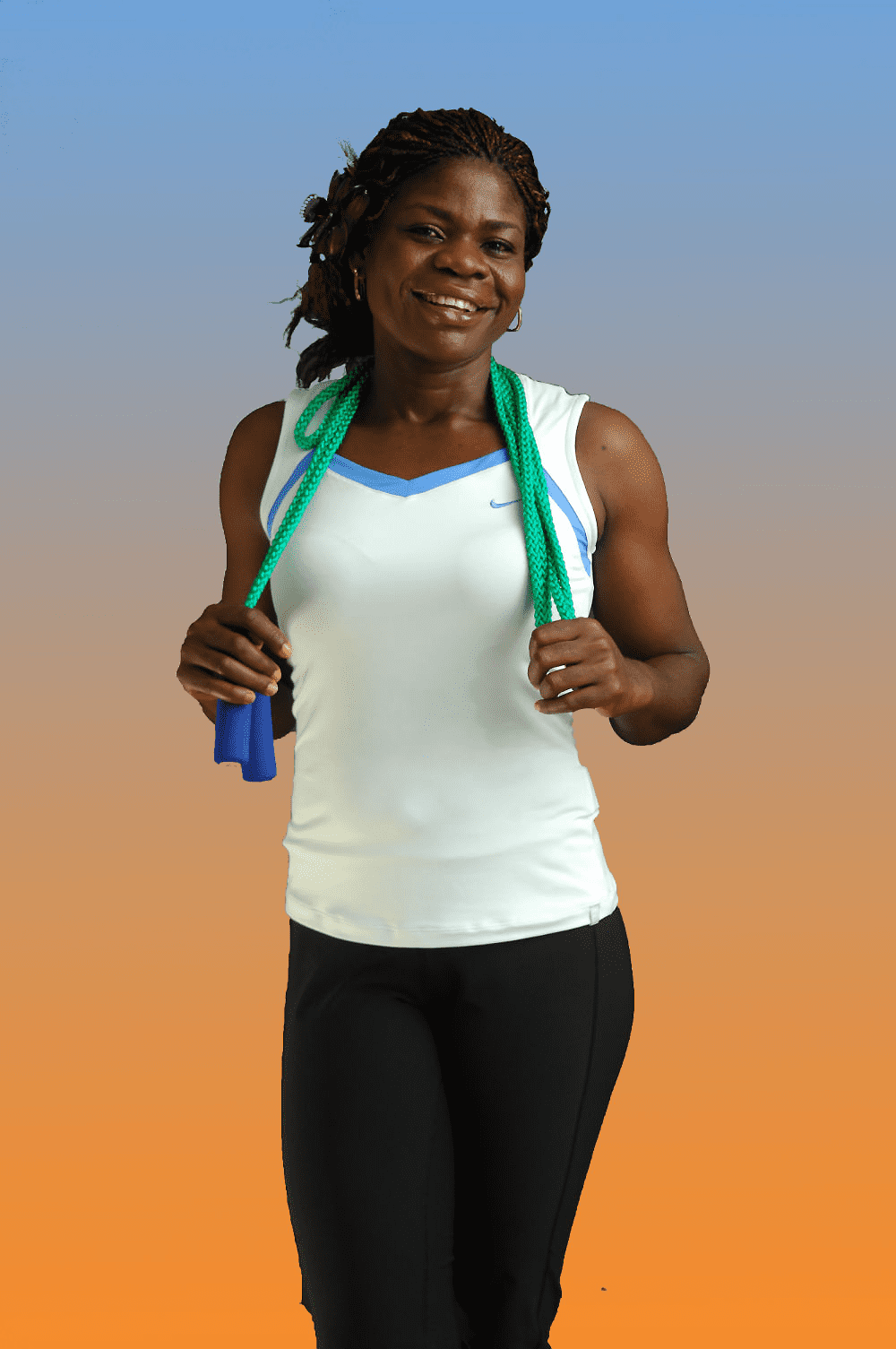 Nigerian Women Fitness Esta Morenikeji