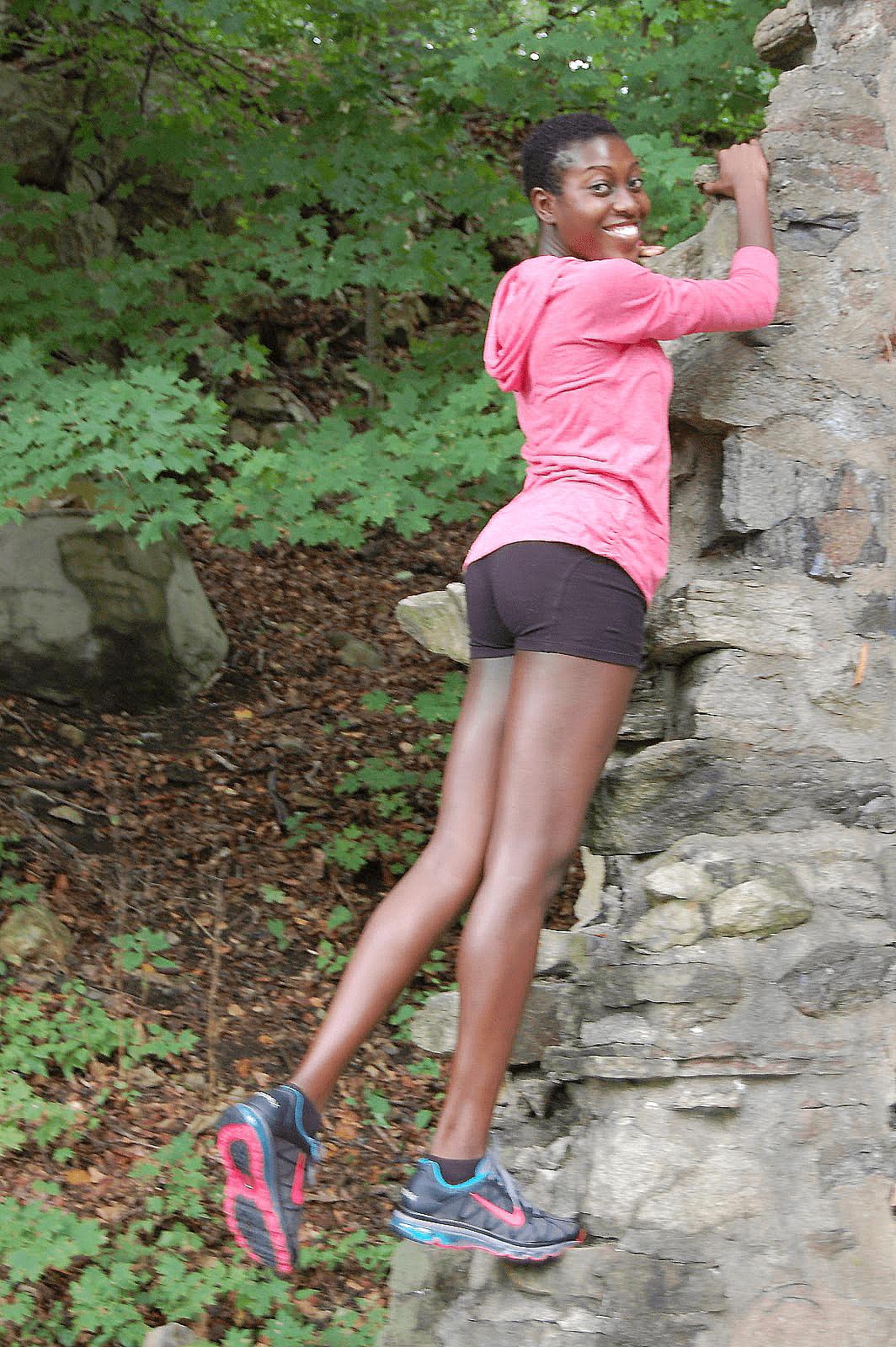 Nigerian Women Fitness Suzanne Brume