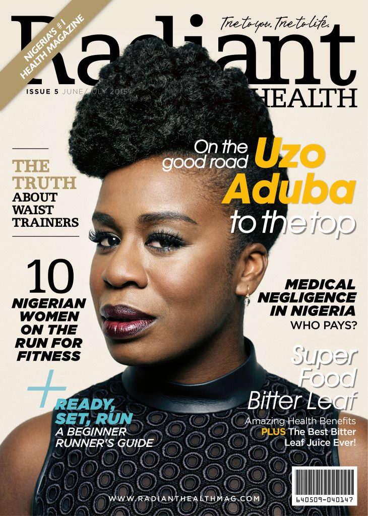 Radiant Health Issue 5 Cover Uzo Aduba
