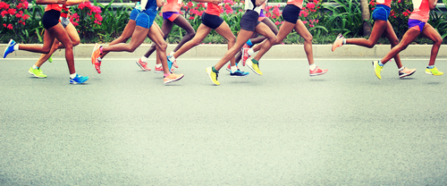 race runners
