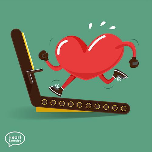 running heart