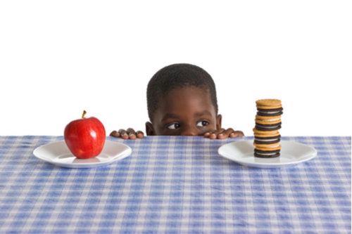 african children are obese